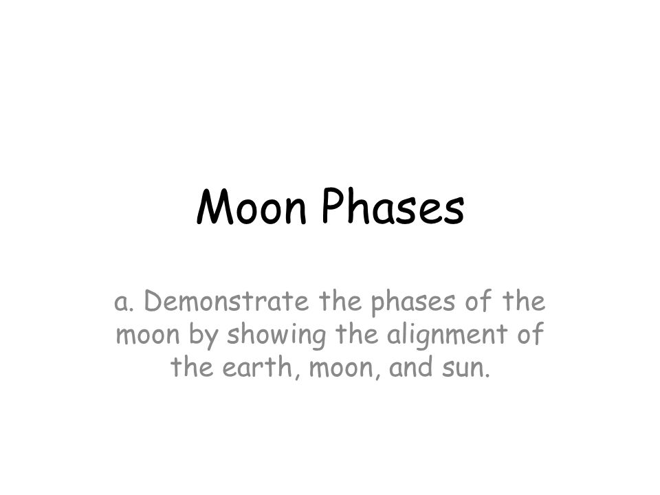 Moon Phases a.