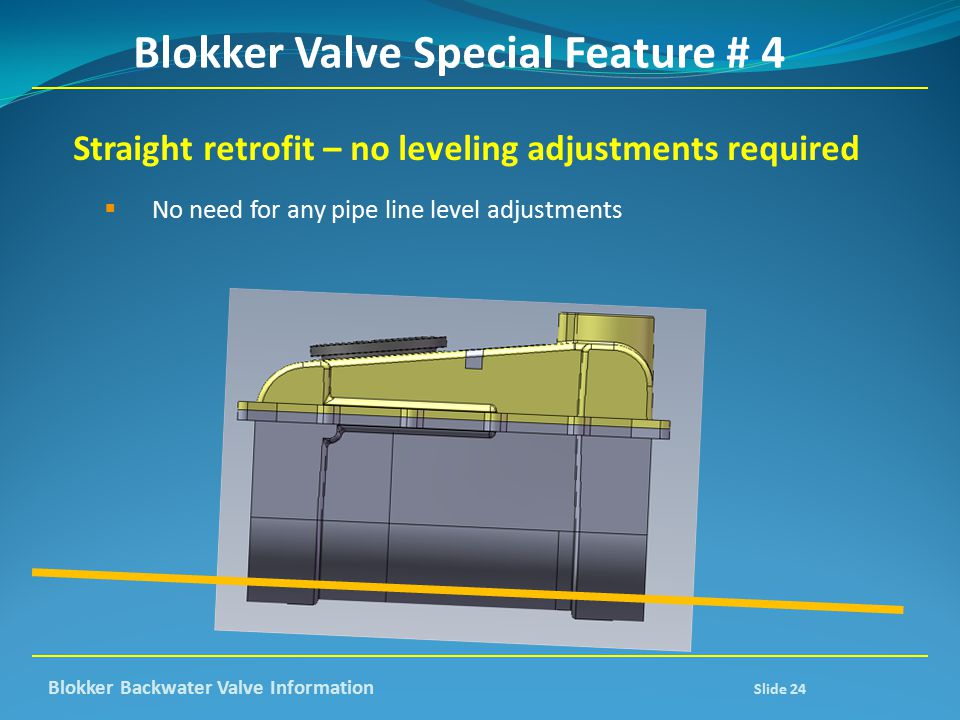 Blokker Valve Special Feature # 4