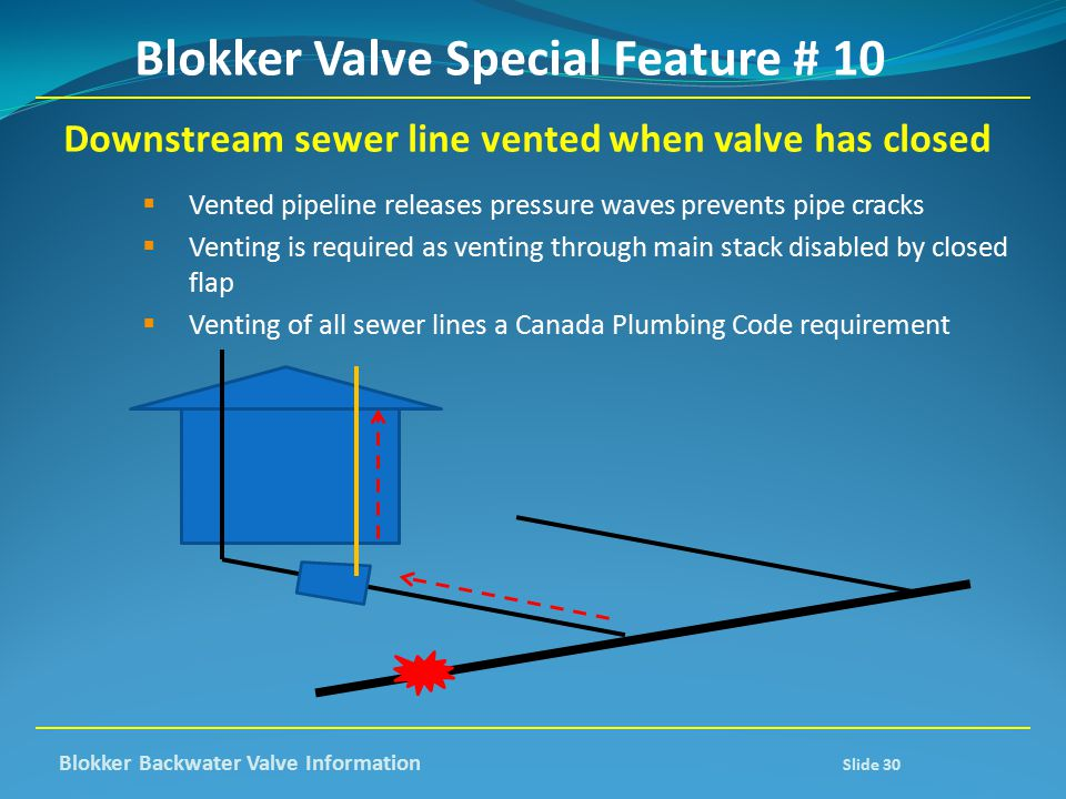 Blokker Valve Special Feature # 10