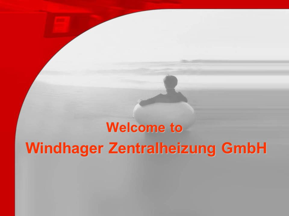 Welcome to Windhager Zentralheizung GmbH
