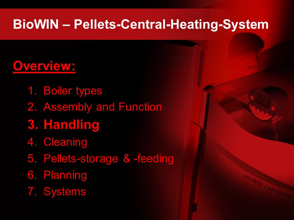 BioWIN – Pellets-Central-Heating-System
