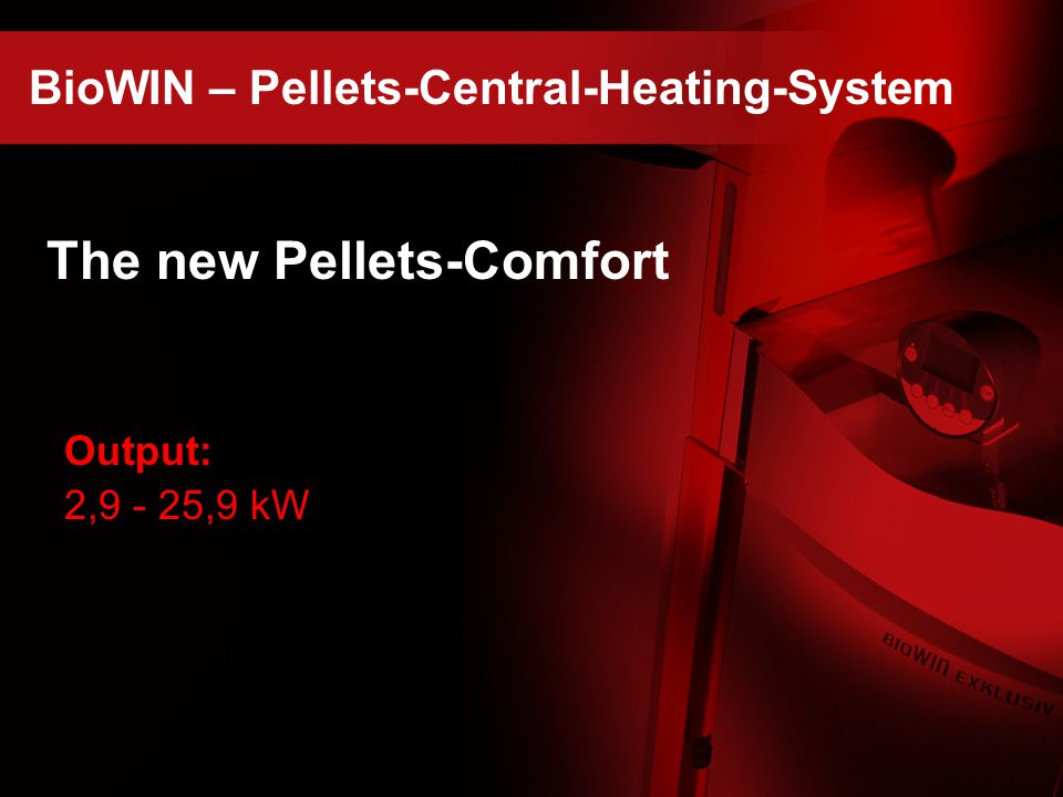 The new Pellets-Comfort