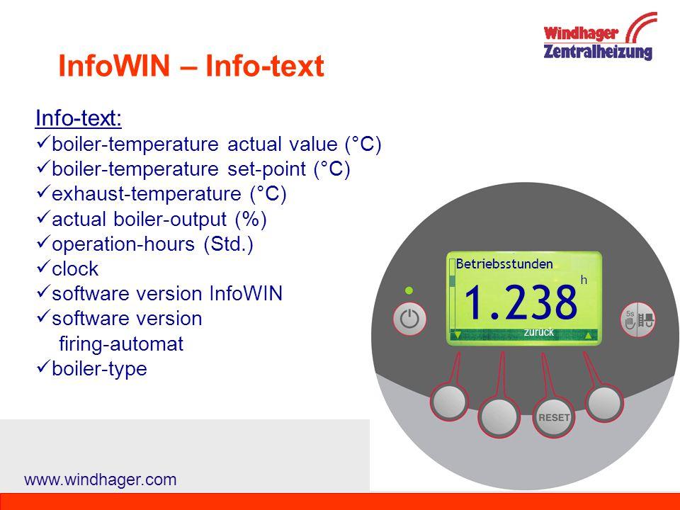 55 1.238 InfoWIN – Info-text Info-text: