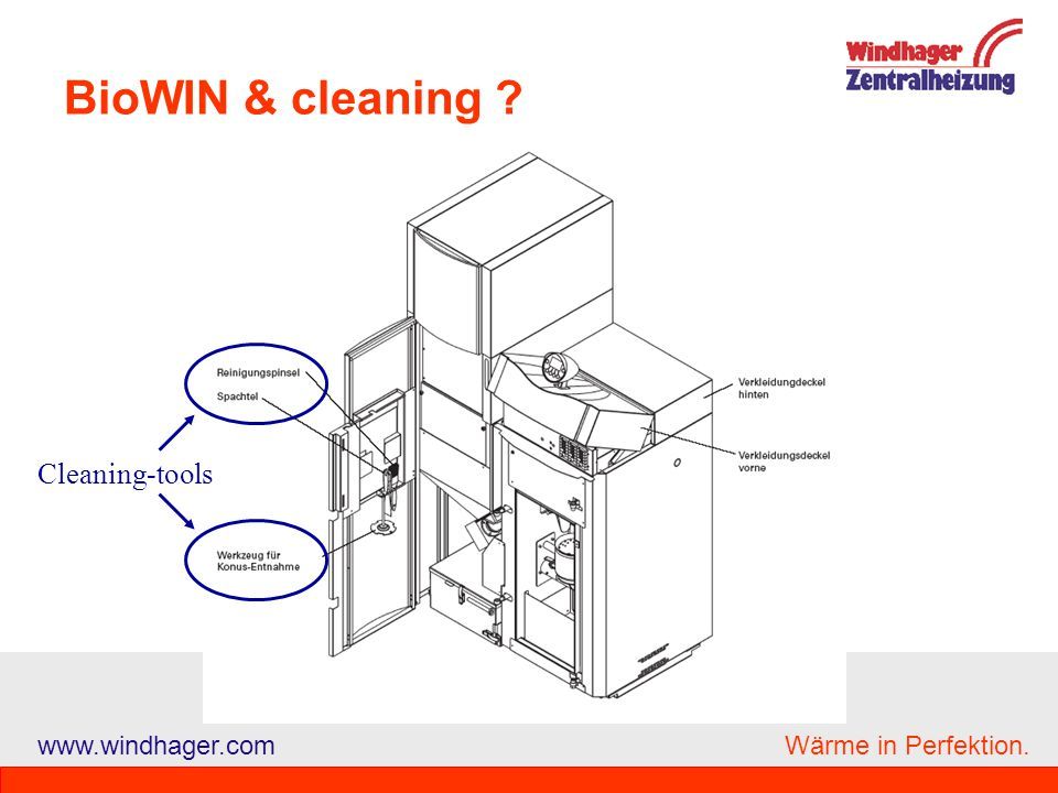 BioWIN & cleaning Cleaning-tools