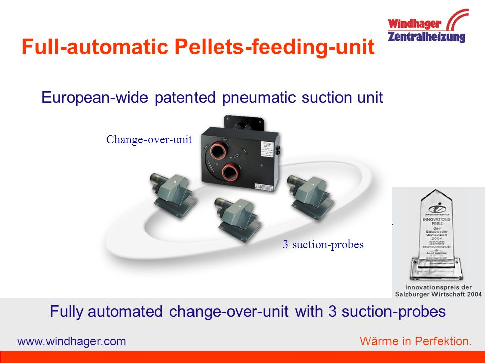 Full-automatic Pellets-feeding-unit