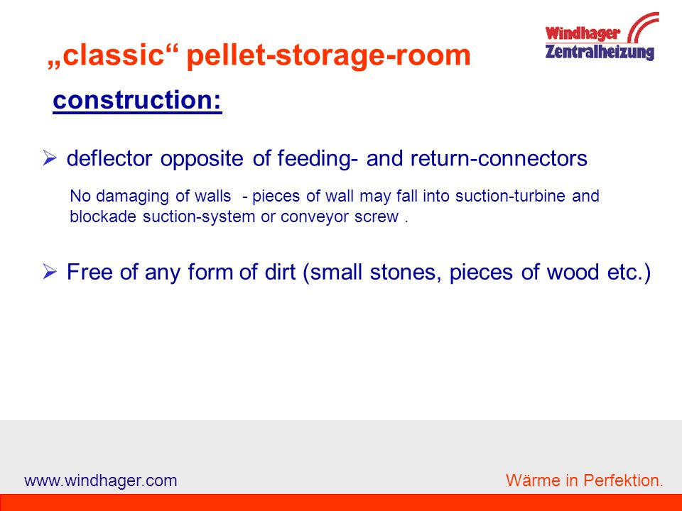 """""""classic pellet-storage-room"""