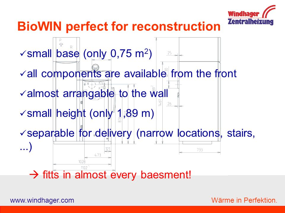 BioWIN perfect for reconstruction