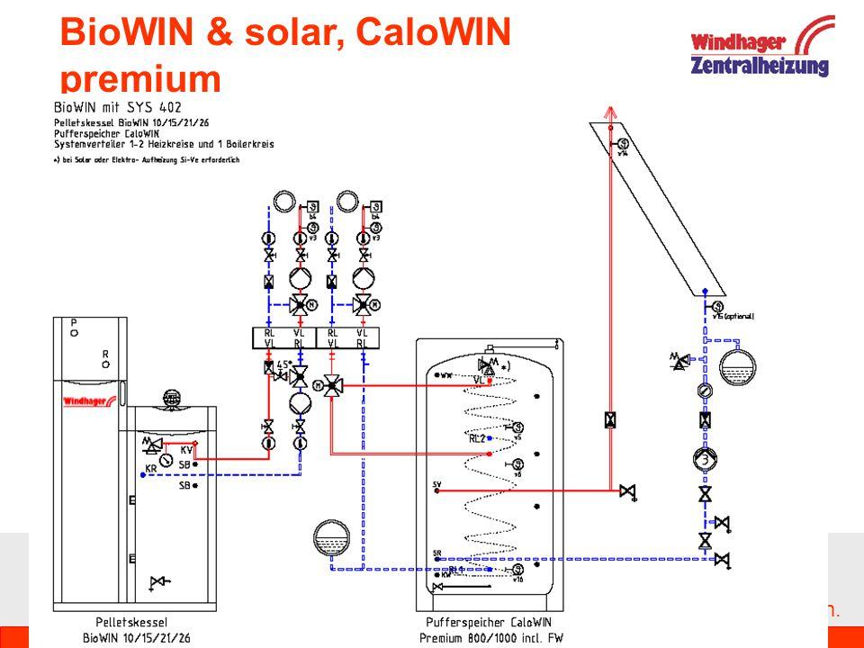 BioWIN & solar, CaloWIN premium