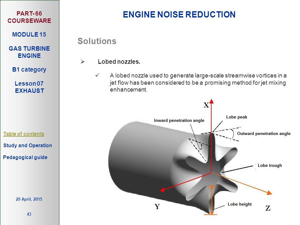 ENGINE NOISE REDUCTION