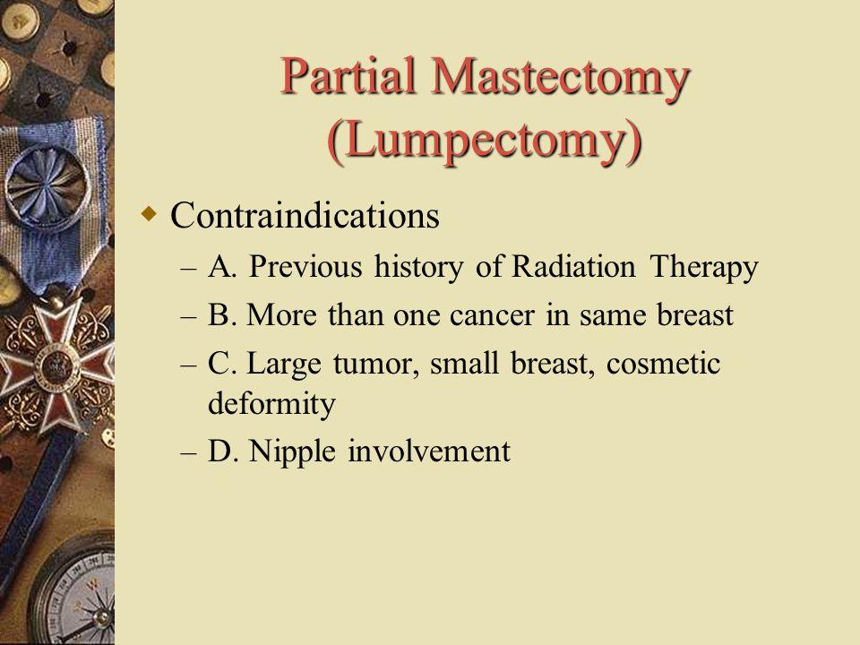 Partial Mastectomy (Lumpectomy)