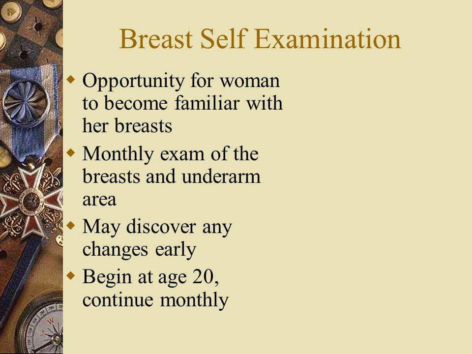 Breast Self Examination