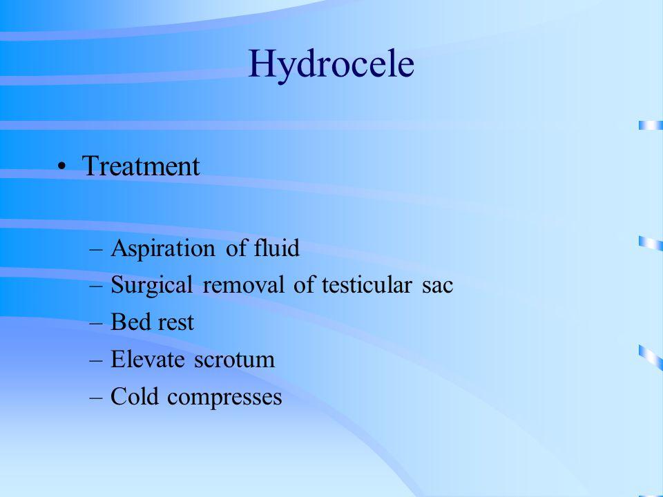 Hydrocele Treatment Aspiration of fluid