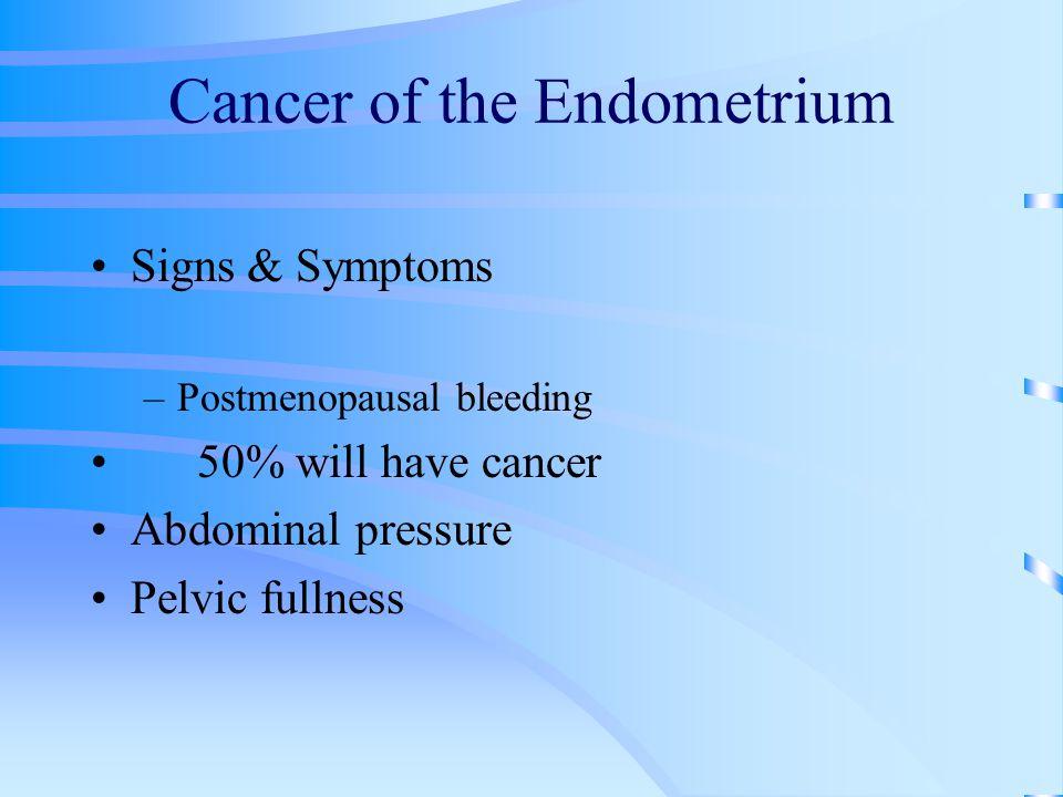Cancer of the Endometrium