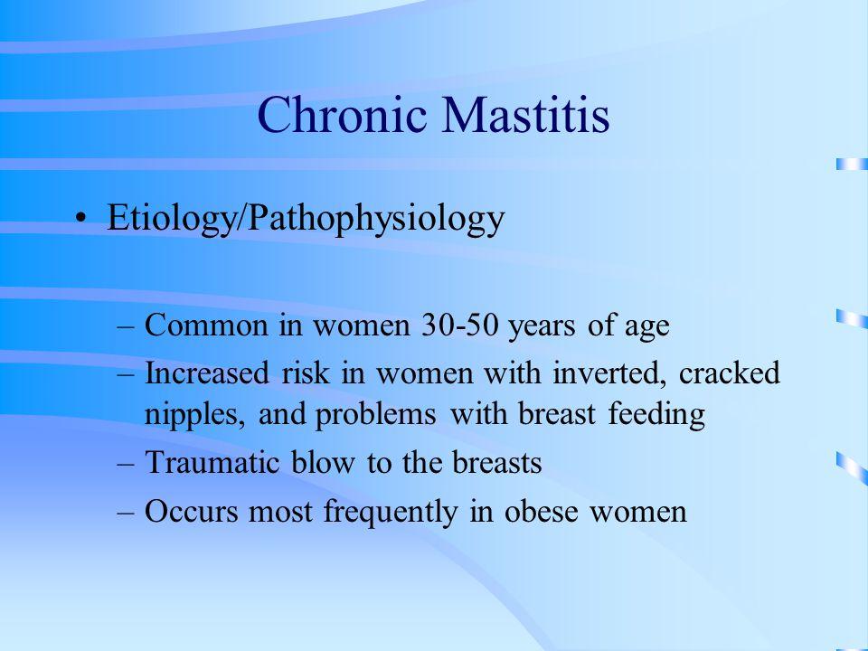 Chronic Mastitis Etiology/Pathophysiology