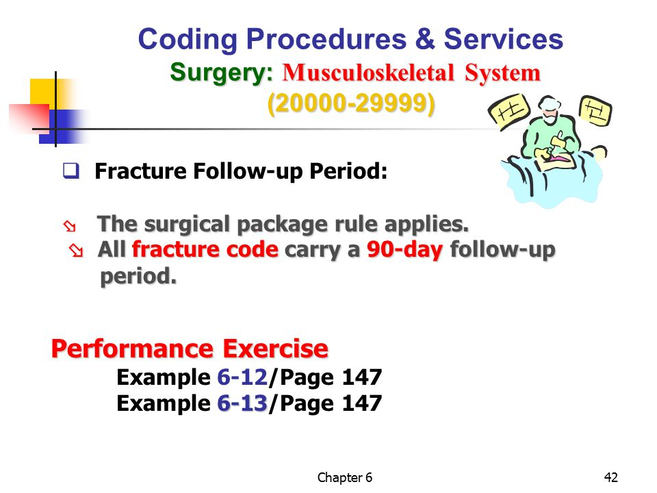 Coding Procedures & Services Surgery: Musculoskeletal System (20000-29999)
