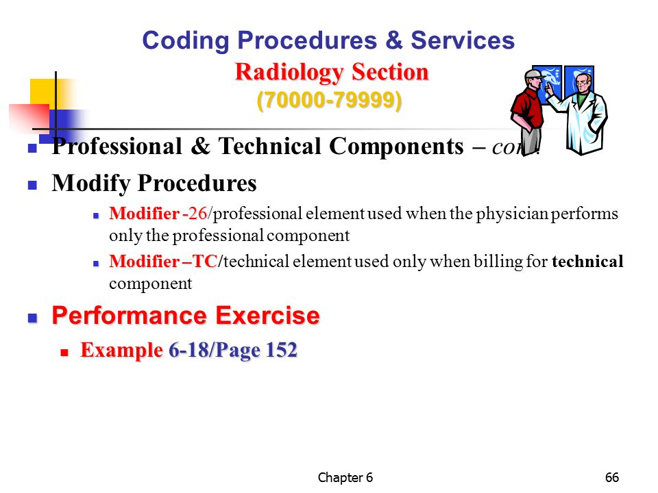 Coding Procedures & Services Radiology Section (70000-79999)