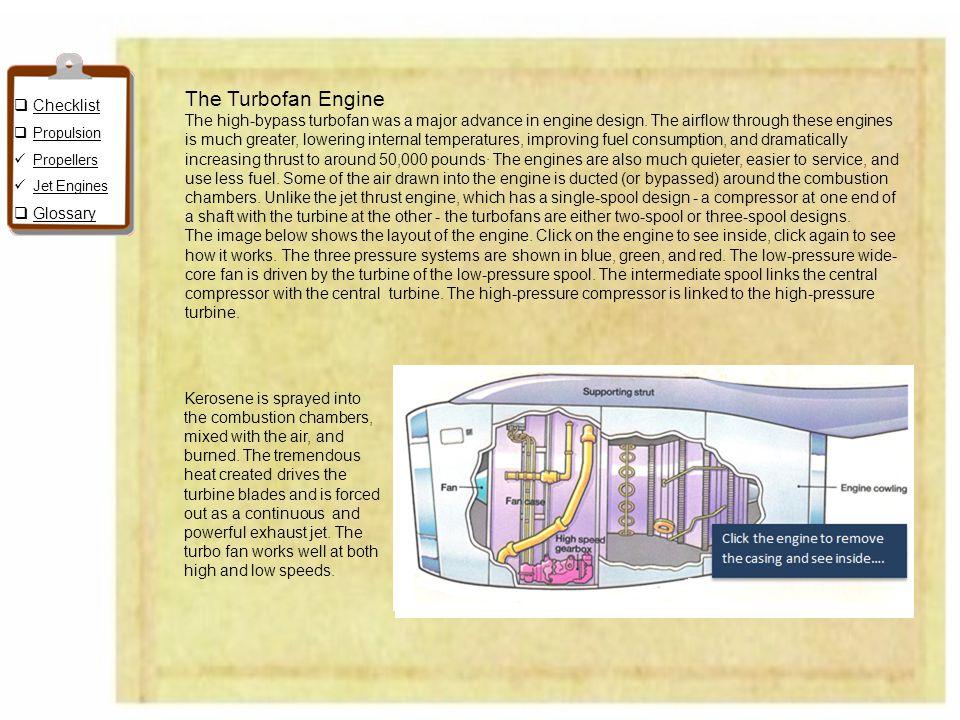 The Turbofan Engine Checklist