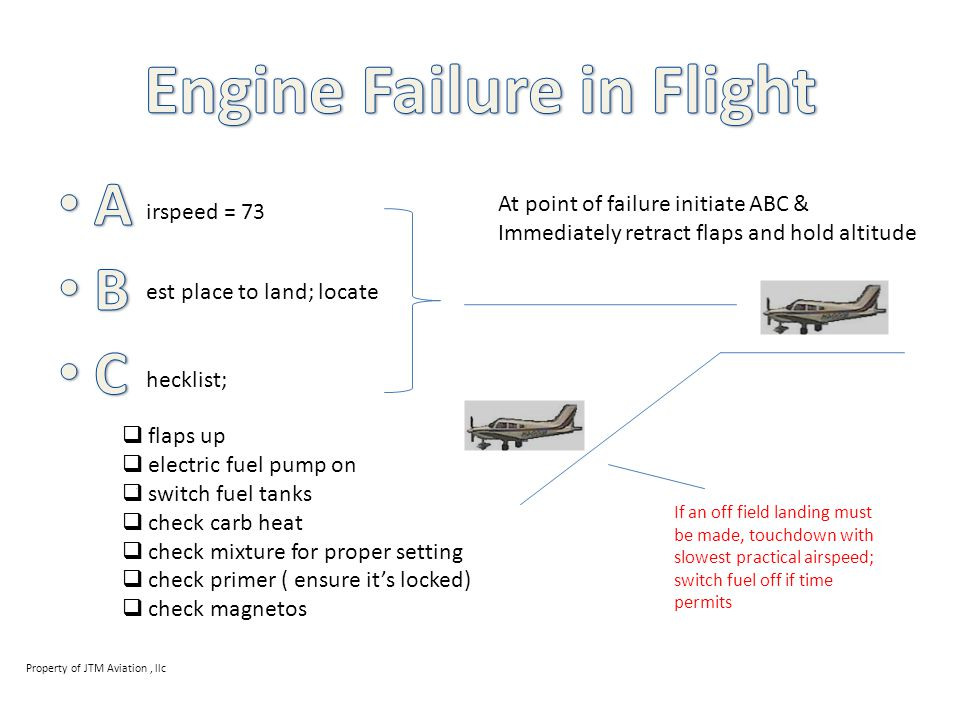 Engine Failure in Flight