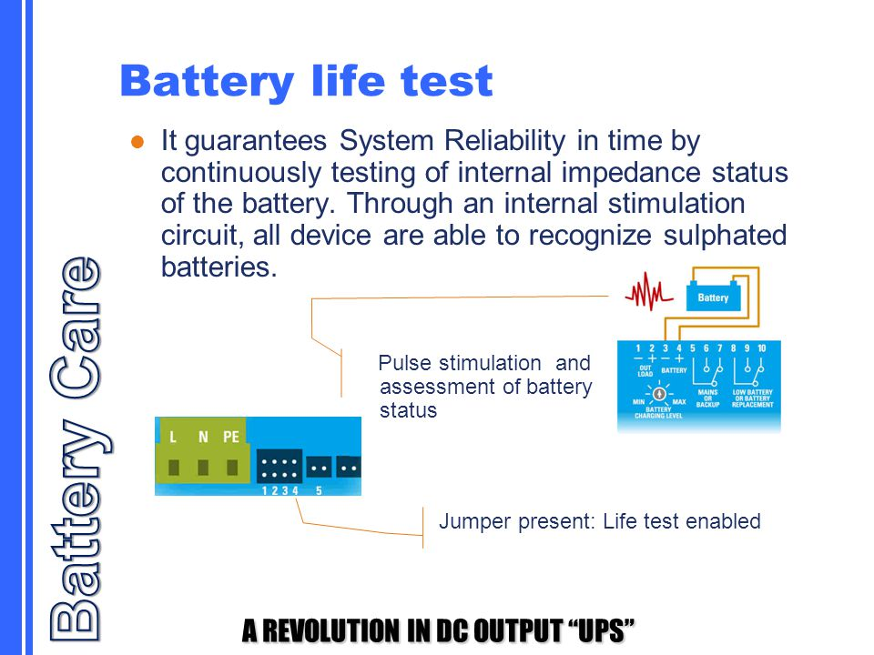 Battery Care Battery life test