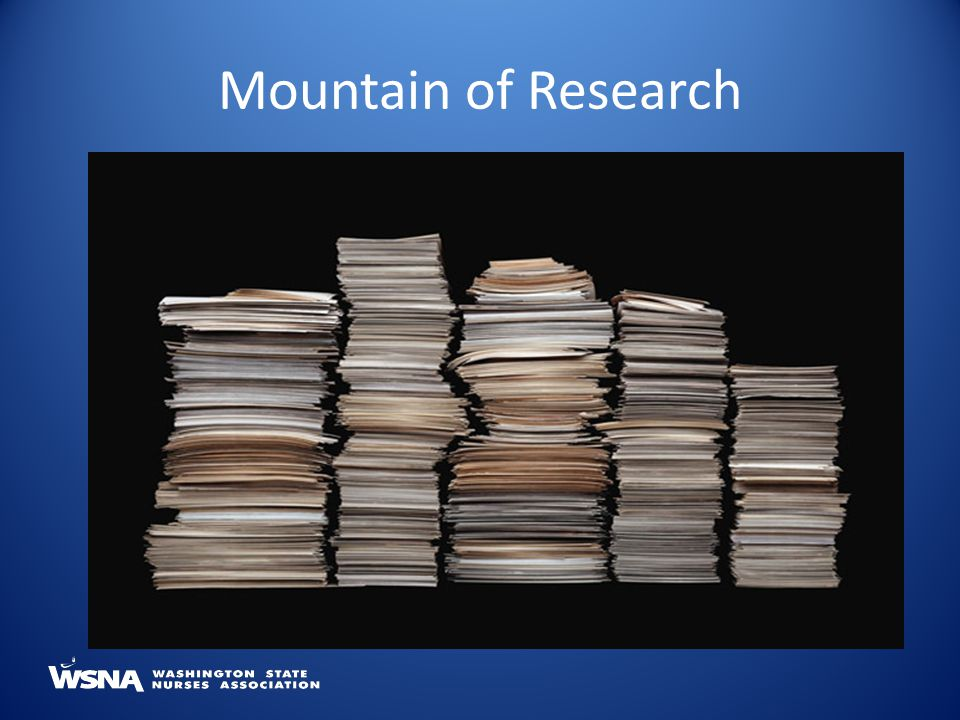 Mountain of Research
