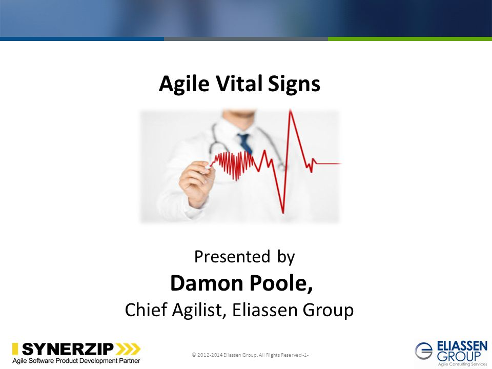 Damon Poole, Chief Agilist, Eliassen Group