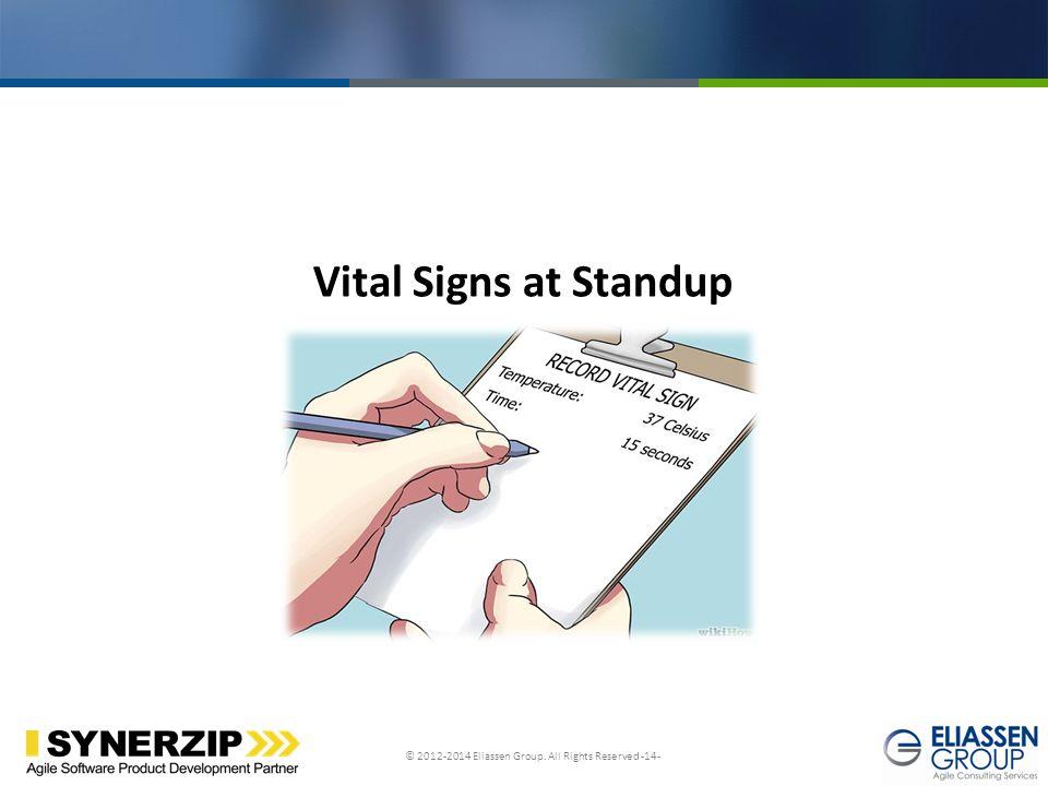 Vital Signs at Standup