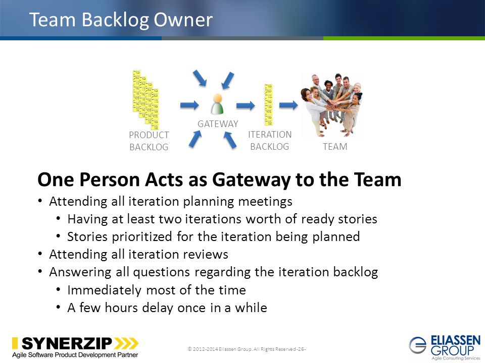 One Person Acts as Gateway to the Team