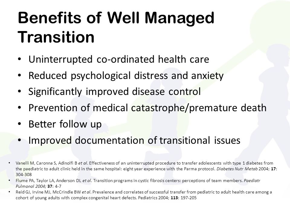 Benefits of Well Managed Transition