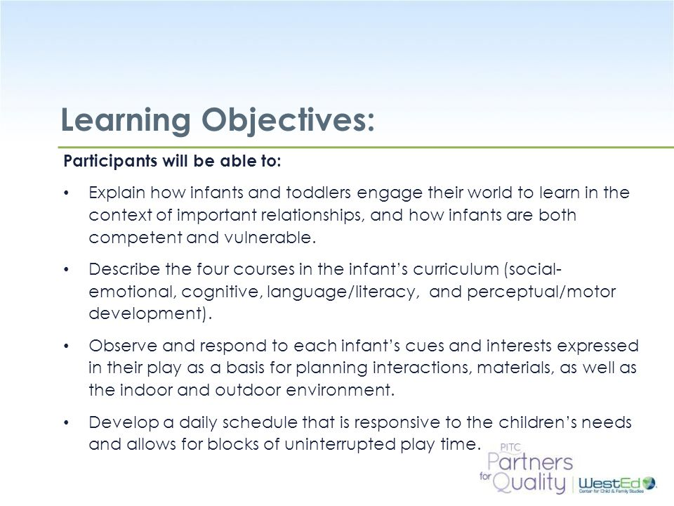 Learning Objectives: Participants will be able to: