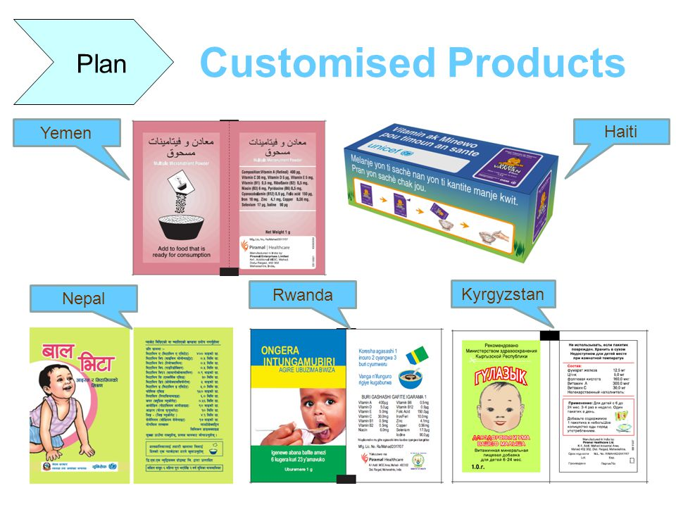 Plan Customised Products Yemen Haiti Nepal Rwanda Kyrgyzstan