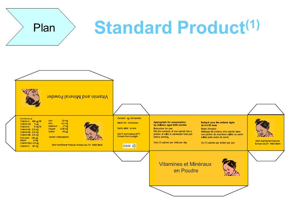 Plan Standard Product(1)