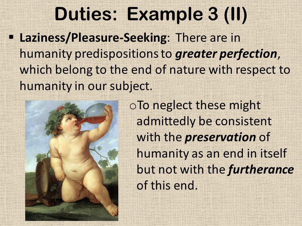 Duties: Example 3 (II)
