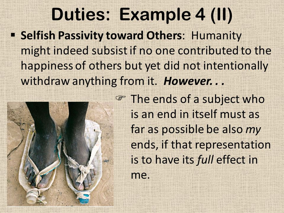Duties: Example 4 (II)