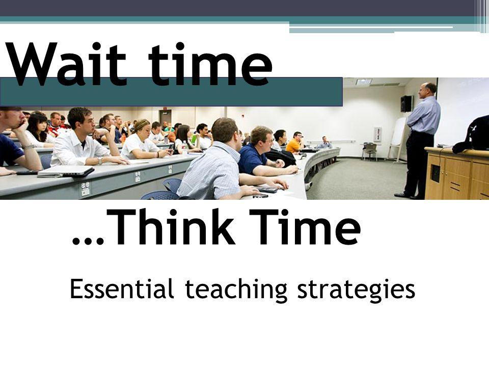 Essential teaching strategies