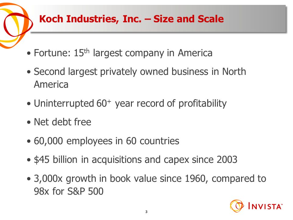 Koch Industries, Inc. – Size and Scale
