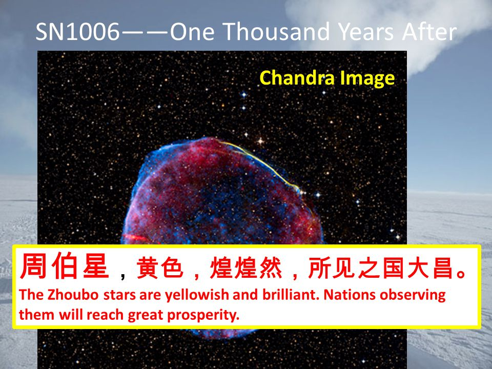 SN1006——One Thousand Years After