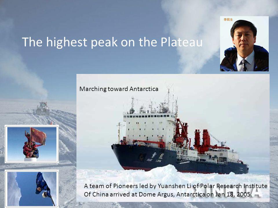 The highest peak on the Plateau