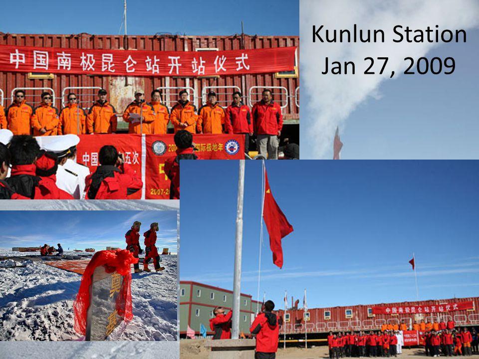 Kunlun Station Jan 27, 2009