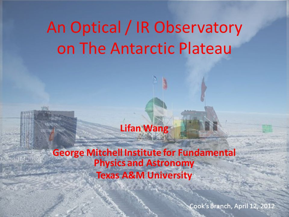 An Optical / IR Observatory on The Antarctic Plateau