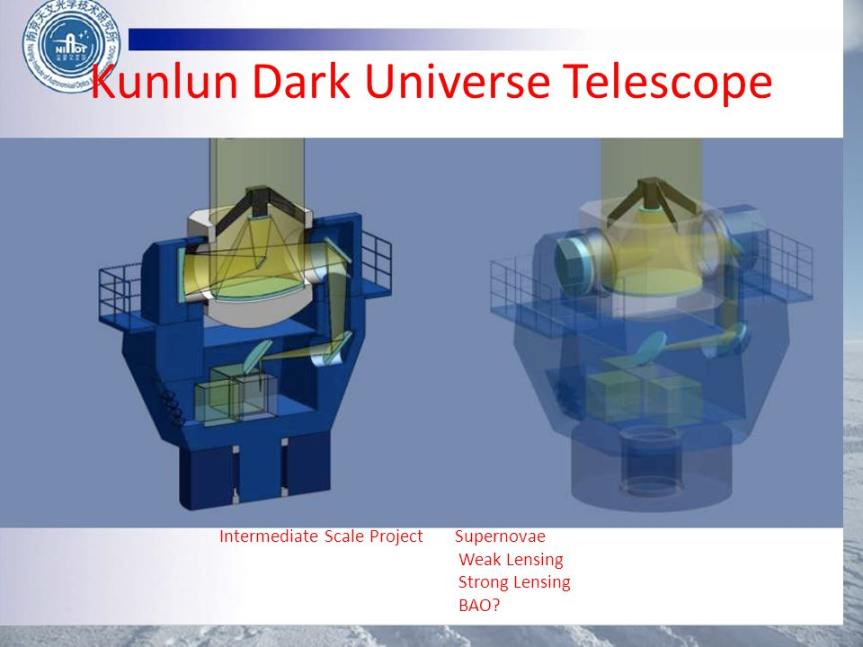 Kunlun Dark Universe Telescope