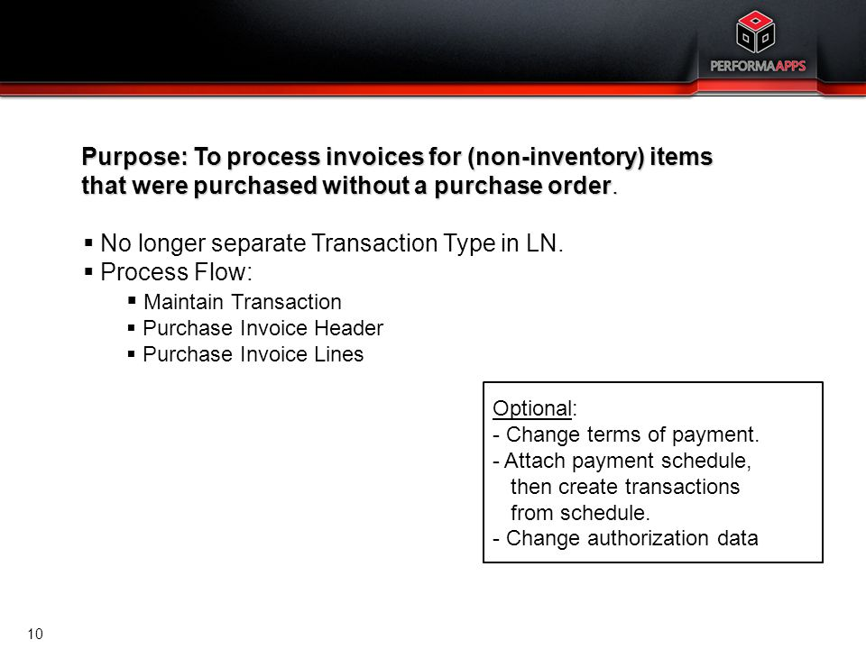 Accounts Payable Cost Invoices