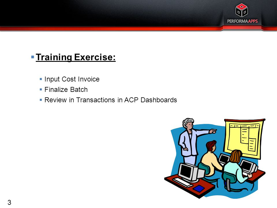 Accounts Payable Training Exercises