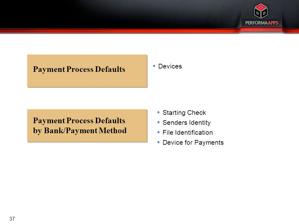Cash Management Uninterrupted payment/receipt process