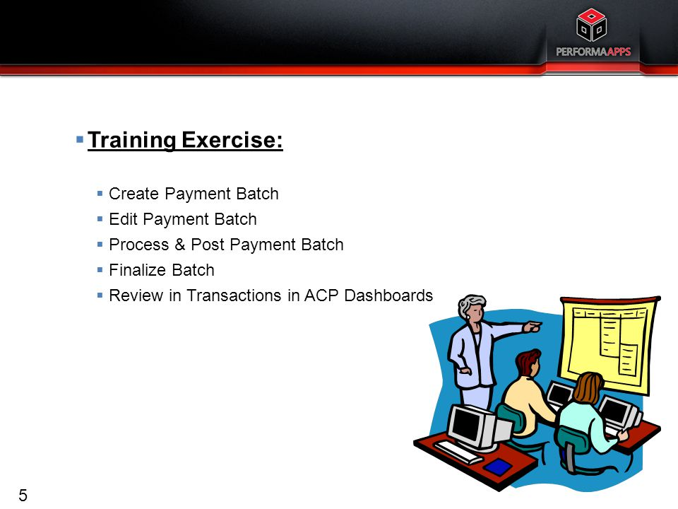 Cash Management Training Exercises