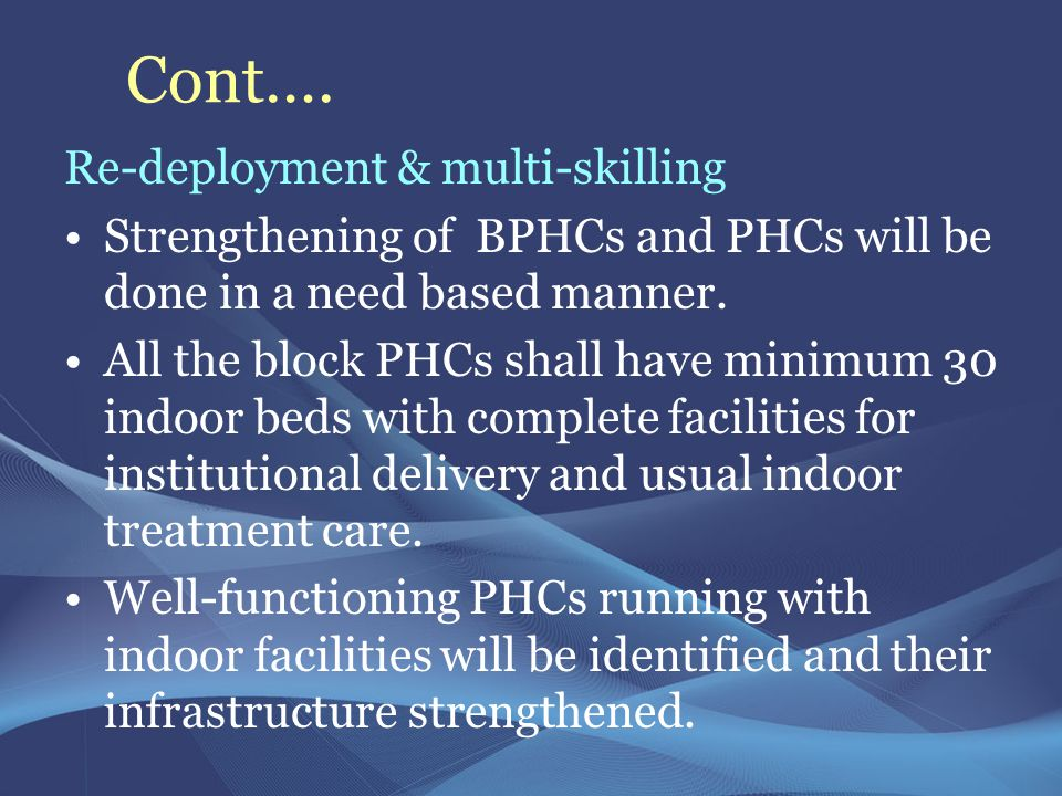 Cont…. Re-deployment & multi-skilling