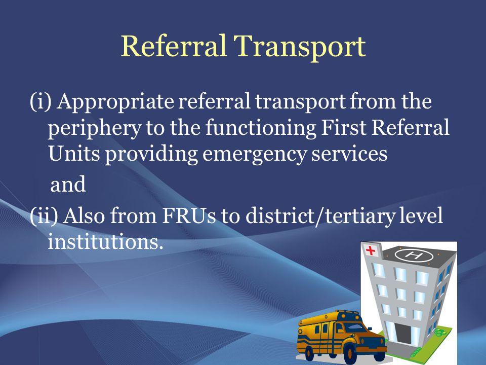 Referral Transport