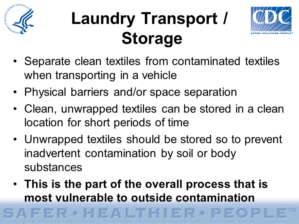 Laundry Transport / Storage