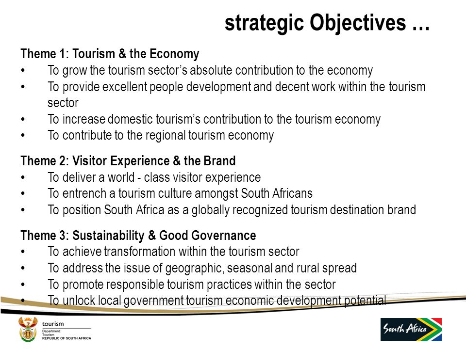 strategic Objectives …
