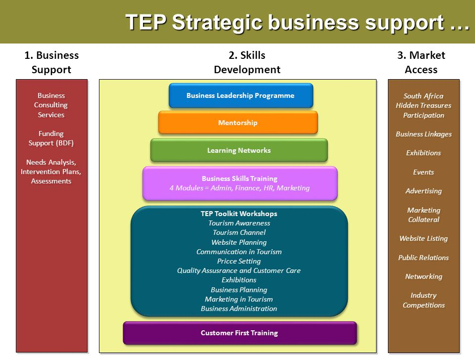 TEP Strategic business support …