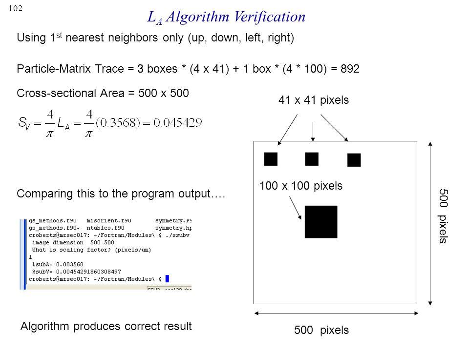 LA Algorithm Verification
